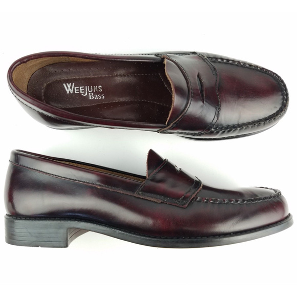 776bafa7a3e Bass Shoes - GH Bass Weejuns Penny Loafer Boat Shoes